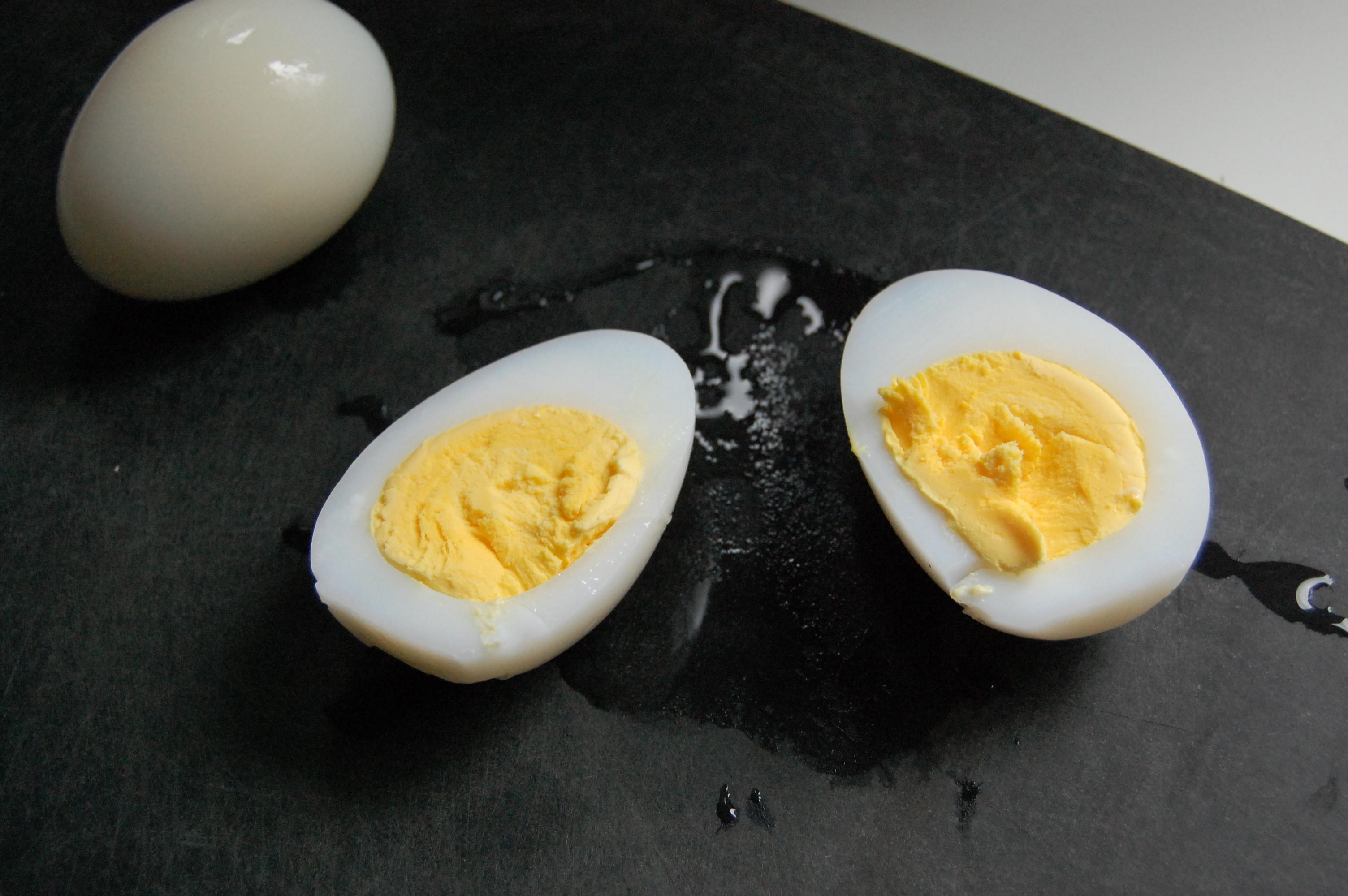 Boil goose eggs how long